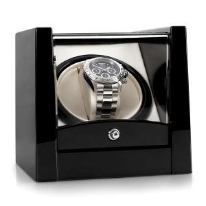 8PT1S Estuche para 1 reloj Negro lacado