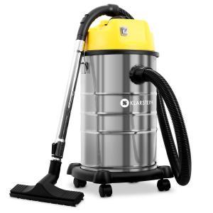 IVC-30 Aspirador seco húmedo aspirador industrial 1800W 30L amarillo
