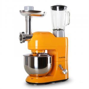 Lucia Orangina Robot de cocina batidora amasadora 5 Lt 1200 W naranja Naranja