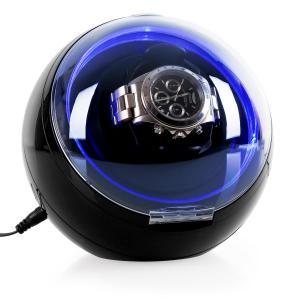St.Gallen-Deux Watch winder 4 modos LED Negro
