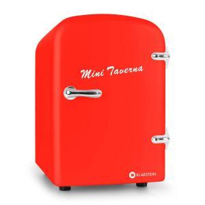 Mini Taverna Nevera 4L roja Rojo