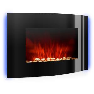 Lausanne chimenea electrica estufa electrica decorativa 2000 W negro