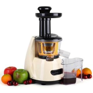 Fruitpresso Bella Morena licuadora prensado en frio slow juicer 70 RPM crema Crema