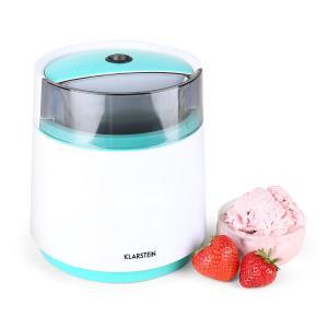 Bacio Azzurro Máquina de helados casera blanco azul