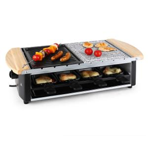 - Raclette Parilla superficie piedra de 1200 W