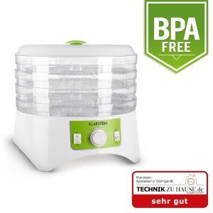 Appleberry Deshidratador blanco/verde 400W  4 bandejas sin BPA Blanco