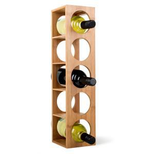 Rack no3 botellero estantería bambú para vino