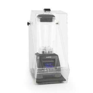 Herakles 8G Batidora Vaso negro con cover 1800W 2,4 PS 2 litros libre de BPA