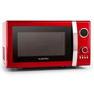 Fine Dinesty Horno microondas 2en1 retro 23L 800W 12 programas rojo Rojo