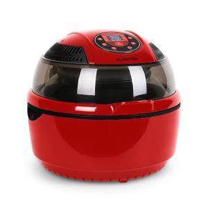 VitAir Fryer freidora sin aceite freidora dietetica 9 Lt rojo/negro Rojo