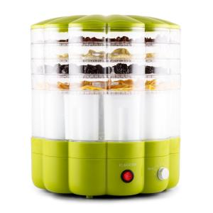 Yofruit Deshidratador de 5 pisos con yogurtera Verde Verde