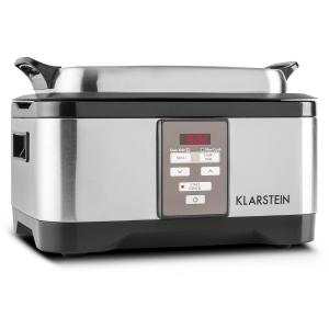 Tastemaker Olla lenta de cocción al vacío 6l 550W Acero inoxidable Plata Plata