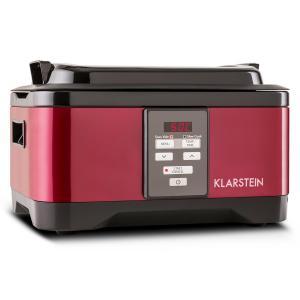 Tastemaker Olla lenta de cocción al vacío 6l 550W Acero inoxidable Rojo Rojo