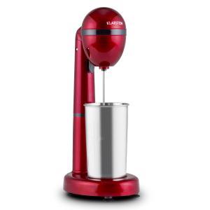 van Damme Batidora 100W 450ml Vaso de acero inoxidable Rojo