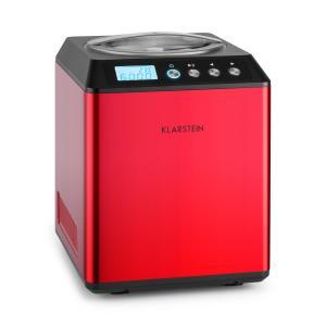 Vanilla Sky máquina de hacer helados heladera con compresor 180 W rojo