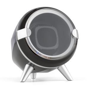 Sindelfingen Estuche para 1 reloj con rotación hacia la derecha e izquierda negro Negro