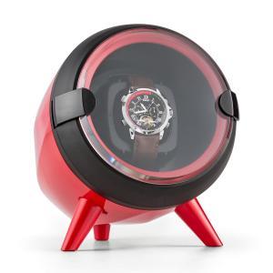 Sindelfingen Estuche para 1 reloj con rotación hacia la derecha e izquierda rojo