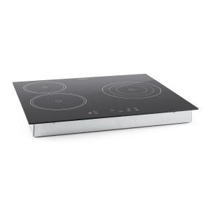 Virtuosa Cocina encastrable de vitrocerámica 5300 W 59x52 cm 3 placas