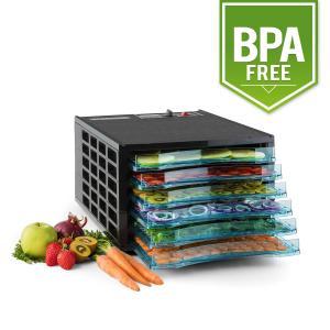 Fruit Jerky 6 Deshidratador secador 630W 6 bandejas sin BPA 6 bandejas