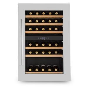Vinsider 35D Nevera para vino de instalación libre 128 L 41 botellas de vino 2 zonas