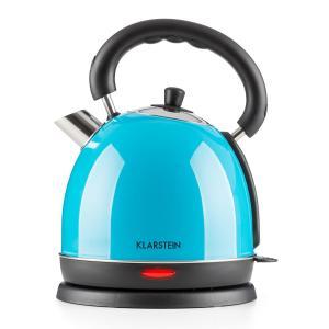 Teatime Hervidor de agua Tetera 1850W 1,8l Acero inoxidable Azul
