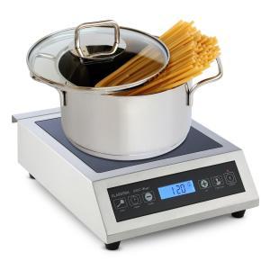 Induuk Placa de inducción Ø 22 cm 500-3500 W Cocina y Catering Profesi