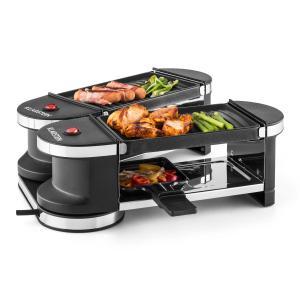 Tenderloin Mini Raclette-Grill 600W 360°-Basis 2 grilles