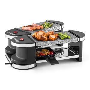 Tenderloin Mini Raclette-Grill 600W 360°-Basis 2 piedras calientes