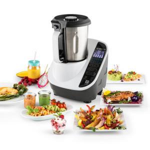 Food Circus Robot de cocina Olla al vapor 10 programas 500/1100 W Blanco Blanco