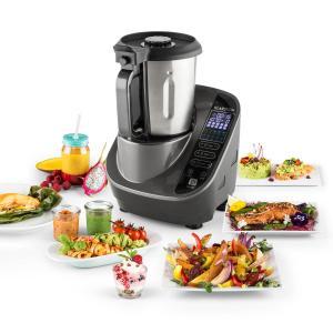 Food Circus Robot de cocina Olla al vapor 10 programas 500/1100 W gris Gris