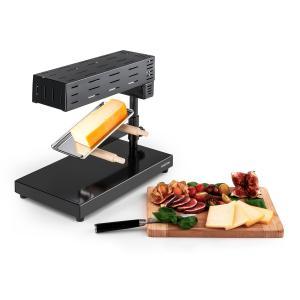 Appenzell 2G Raclette con parrilla tradicional 600 W negra