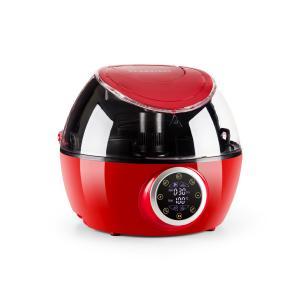 VitAir Twist Freidora de aire caliente Robot de cocina multifunción 1230 W en rojo