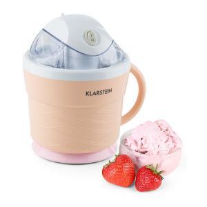 IceIceBaby máquina de helado 0,75 l asa 7,3-9,5 W naranja crema