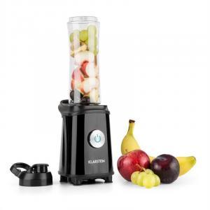 Tuttifrutti Mini-Mixer 350 W 800 ml  cuchillas en cruz sin BPA negro