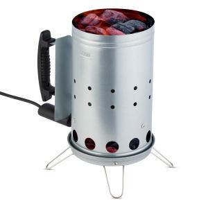 Fegefeuer Encendedor de carbón eléctrico Iniciador de barbacoa 350 W Acero inoxidable