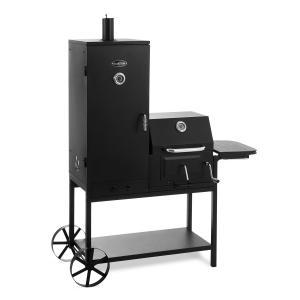 Fleischbrocken Barbacoa de carbón Ahumador Parrilla negra