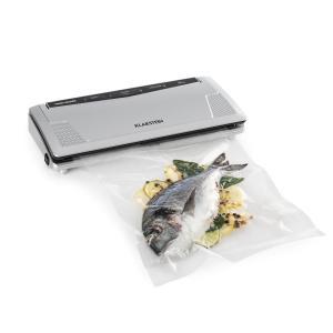 FoodLocker Slim envasador al vacío 130W 10 bolsas de envasado 30 cm plata