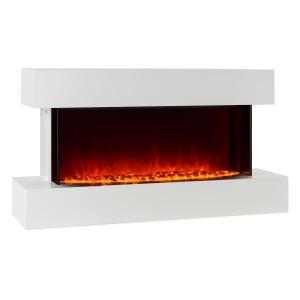 Studio-2 chimenea eléctrica simulación de llamas LED 1000/2000 W 40m²