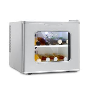 Winehouse Minibar 17 L 60 W Clase A++ 38 dB Puerta de cristal plateado Plata