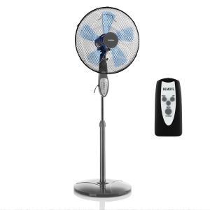 Summerjam ventilador de pie 41 cm 50W 3 niveles gris