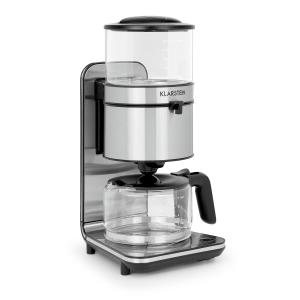 Soulmate Cafetera con filtro 1800W Cristal Acero inoxidable
