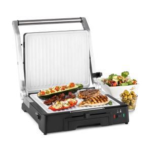 Burgermeister 3-in-1 asador de contacto grill para mesa paninimaker 2000W