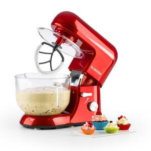 Bella Rossa 2G Robot de cocina 1200W 2,5/5 litros Bol de cristal rojo Rojo