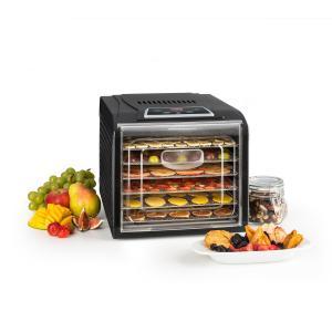 Fruit Jerky Plus 6 Deshidratador Automatico Temporizador 6 Rejillas bandejas 420-500W negro 6 bandejas
