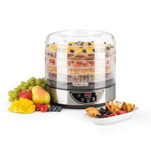 Fruitower D Deshidratador automático con temporizador 35-70ºC 5 estantes 200-240W 5_stages_timer