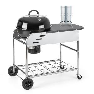 Meatpacker Set XXL parrilla leña carbón BBQ ahumador + encendido eléctrico