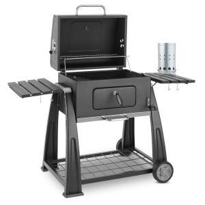 Bigfoot Set parrilla carbón BBQ ahumadero + encendido eléctrico