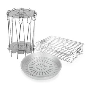 VitAir accesorio set 3 piezas acero inoxidable aluminio fundido